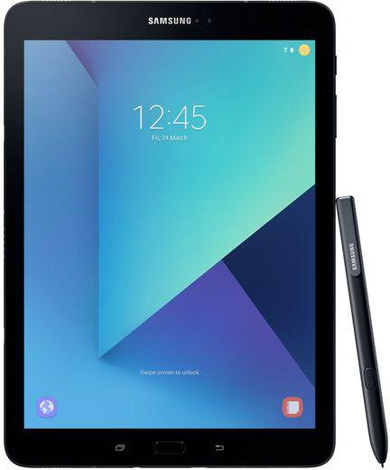 "Планшет Samsung Galaxy Tab S3 SM-T820N Snapdragon 820 (2.15) 4C/RAM4Gb/ROM32Gb 9.7"" Super AMOLED 2048x1536/Android 7.0/черный/13Mpix/5Mpix/BT/WiFi/Touch/microSD 256Gb/minUSB/6000mAh"