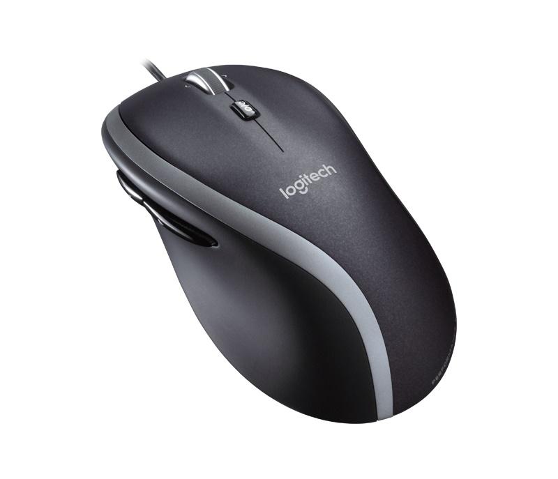 Мышь Logitech M500 черный/серебристый лазерная (1000dpi) USB (7but)