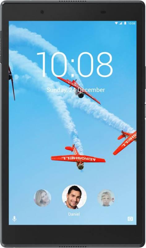 "Планшет Lenovo Tab 4 TB-8504F Snapdragon 425 (1.4) 4C/RAM2Gb/ROM16Gb 8"" IPS 1280x800/Android 7.1.1/черный/5Mpix/2Mpix/BT/WiFi/Touch/microSD 128Gb/minUSB/4850mAh/10hr"