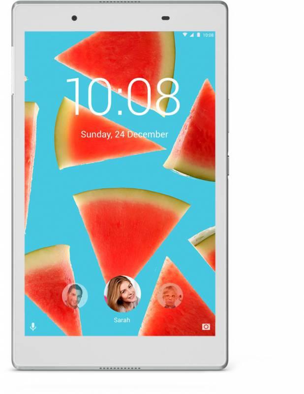 "Планшет Lenovo Tab 4 TB-8504F Snapdragon 425 (1.4) 4C/RAM2Gb/ROM16Gb 8"" IPS 1280x800/Android 7.1.1/белый/5Mpix/2Mpix/BT/WiFi/Touch/microSD 128Gb/minUSB/4850mAh/10hr"