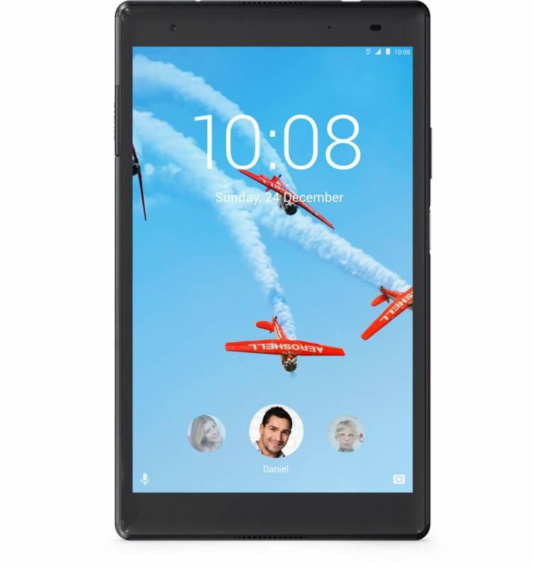 "Планшет Lenovo Tab 4 Plus TB-8704X Snapdragon 625 (2.0) 8C/RAM3Gb/ROM16Gb 8"" IPS 1920x1200/3G/4G/Android 7.0/черный/8Mpix/5Mpix/BT/GPS/WiFi/Touch/microSD 128Gb/4850mAh/10hr"