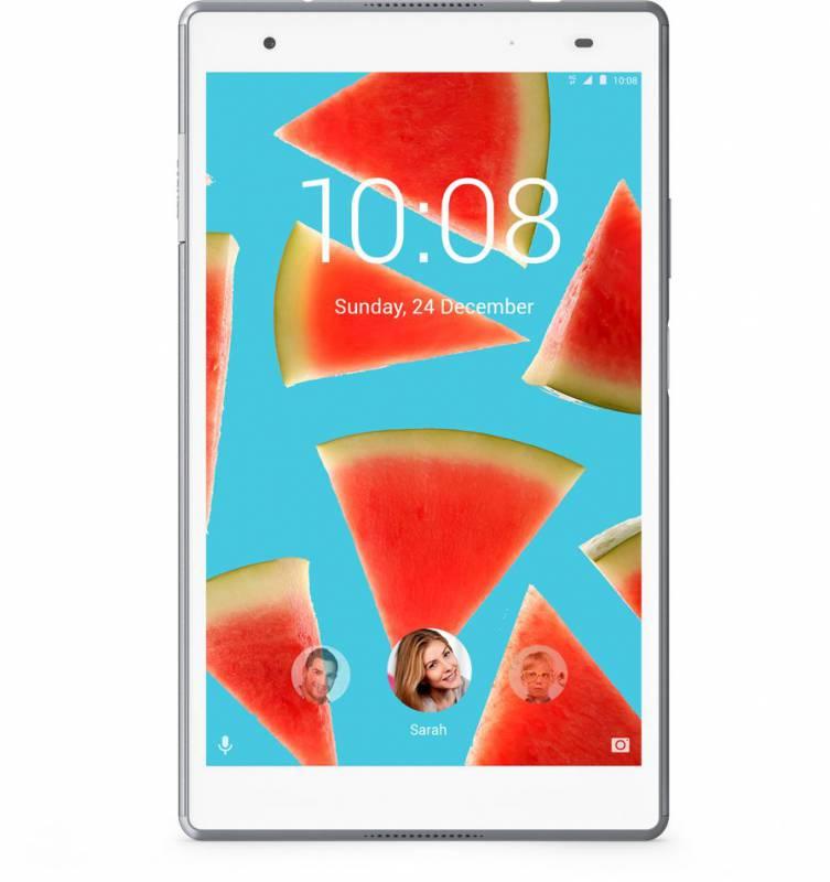 "Планшет Lenovo Tab 4 Plus TB-8704X Snapdragon 625 (2.0) 8C/RAM4Gb/ROM64Gb 8"" IPS 1920x1200/3G/4G/Android 7.0/белый/8Mpix/5Mpix/BT/GPS/WiFi/Touch/microSD 128Gb/4850mAh/10hr"
