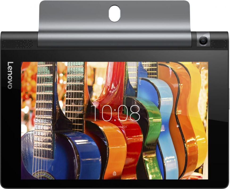"Планшет Lenovo Yoga Tablet YT3-850M Snapdragon MSM8909 (1.0) 4C/RAM2Gb/ROM16Gb 8"" IPS 1280x800/3G/4G/Android 6.0/черный/5Mpix/2Mpix/BT/GPS/WiFi/Touch/microSD/minUSB/4290mAh"