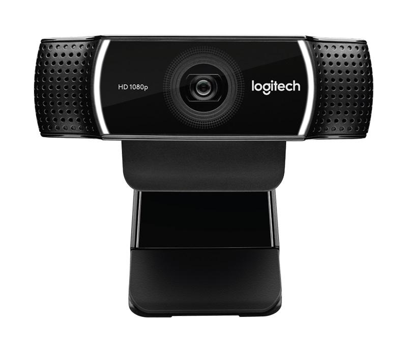Камера Web Logitech Pro Stream C922 черный USB2.0 с микрофоном