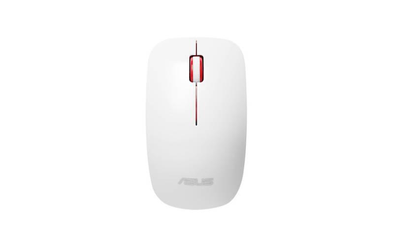 Мышь Asus WT300 RF белый оптическая (1600dpi) беспроводная USB2.0 для ноутбука (2but)