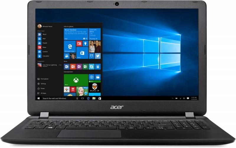 "Ноутбук Acer Aspire ES1-533-C7UM Celeron N3350/4Gb/500Gb/Intel HD Graphics 500/15.6""/HD (1366x768)/Windows 10 Home/black/WiFi/BT/Cam/3220mAh"