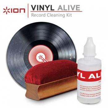 Комплект для очистки ION Audio VINYL ALIVE (для виниловых проигрывателей)