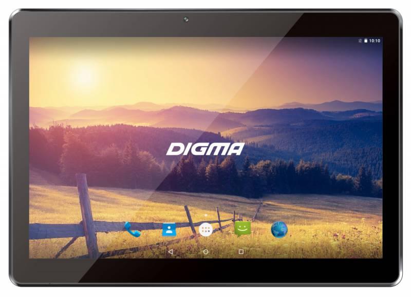 "Планшет Digma Plane 1524 3G MT8321 (1.3) 4C/RAM1Gb/ROM16Gb 10.1"" IPS 1280x800/3G/Android 7.0/черный/2Mpix/0.3Mpix/BT/GPS/WiFi/Touch/microSD 64Gb/minUSB/5000mAh"