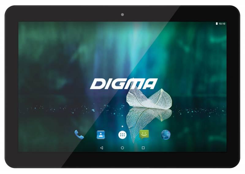 "Планшет Digma Plane 1526 4G MTK8735M (1.0) 4C/RAM1Gb/ROM16Gb 10.1"" IPS 1280x800/3G/4G/Android 5.1/черный/2Mpix/0.3Mpix/BT/GPS/WiFi/Touch/microSD 64Gb/minUSB/5000mAh"