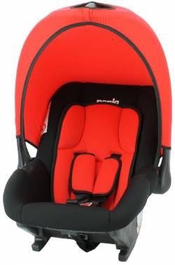 Автокресло детское Nania Baby Ride ECO (red) от 0 до 13 кг (0/0+) красный/черный