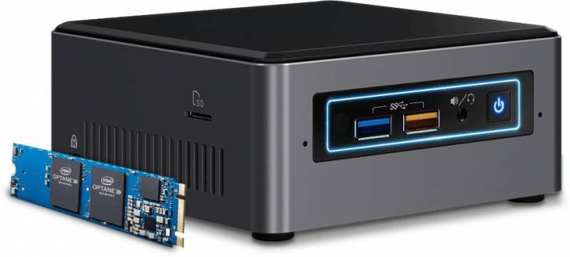 Платформа Intel NUC Optane Original BOXNUC7i3BNHX1 2xDDR4