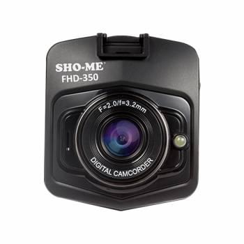 Видеорегистратор Sho-Me FHD-350 черный 3Mpix 1080x1920 1080p 120гр. GPCV1248
