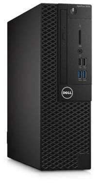 ПК Dell Optiplex 3050 SFF i3 6100 (3.7)/4Gb/500Gb 7.2k/HDG530/DVDRW/Linux/Eth/180W/клавиатура/мышь/черный