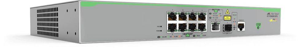 Коммутатор Allied Telesis AT-FS980M/9PS-50 8x100Mb 8PoE 4PoE+ 150W управляемый
