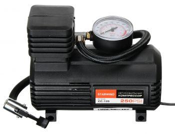 Автомобильный компрессор Starwind CC-120 15л/мин шланг 0.45м
