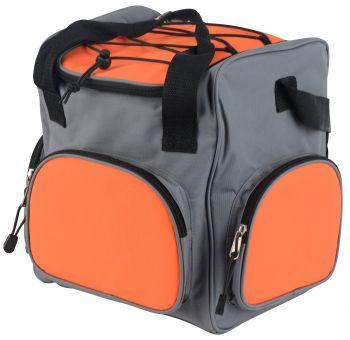 Автохолодильник Starwind CB-120 20л 45Вт серый/оранжевый