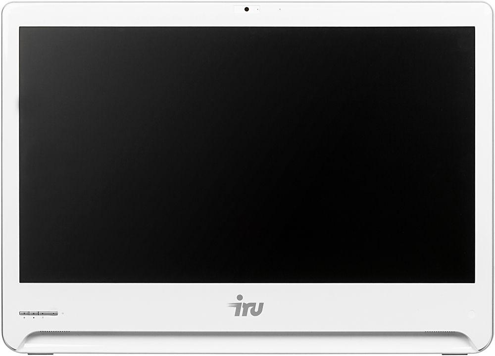 "Моноблок IRU Office S2301 23.6"" Full HD i5 5200U (2.2)/4Gb/1Tb 7.2k/HDG5500/DVDRW/CR/Free DOS/GbitEth/WiFi/65W/Cam/белый 1920x1080"
