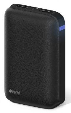 Мобильный аккумулятор Hiper SP7500 Li-Ion 7500mAh 2.1A+1A черный 2xUSB
