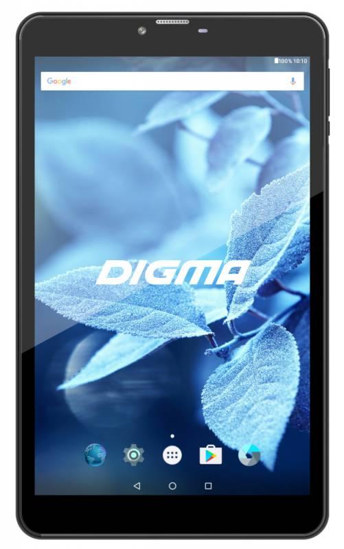 "Планшет Digma CITI 8531 3G MT8321 (1.3) 4C/RAM1Gb/ROM8Gb 8"" IPS 1280x800/3G/Android 7.0/графит/черный/2Mpix/0.3Mpix/BT/GPS/WiFi/Touch/microSD 64Gb/minUSB/3500mAh"