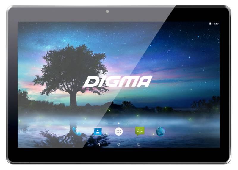 "Планшет Digma CITI 1532 3G MT8321 (1.3) 4C/RAM1Gb/ROM8Gb 10.1"" IPS 1280x800/3G/Android 7.0/черный/2Mpix/0.3Mpix/BT/GPS/WiFi/Touch/microSD 64Gb/minUSB/4000mAh"
