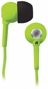 Наушники вкладыши BBK EP-1200S 1.2м зеленый проводные (в ушной раковине)
