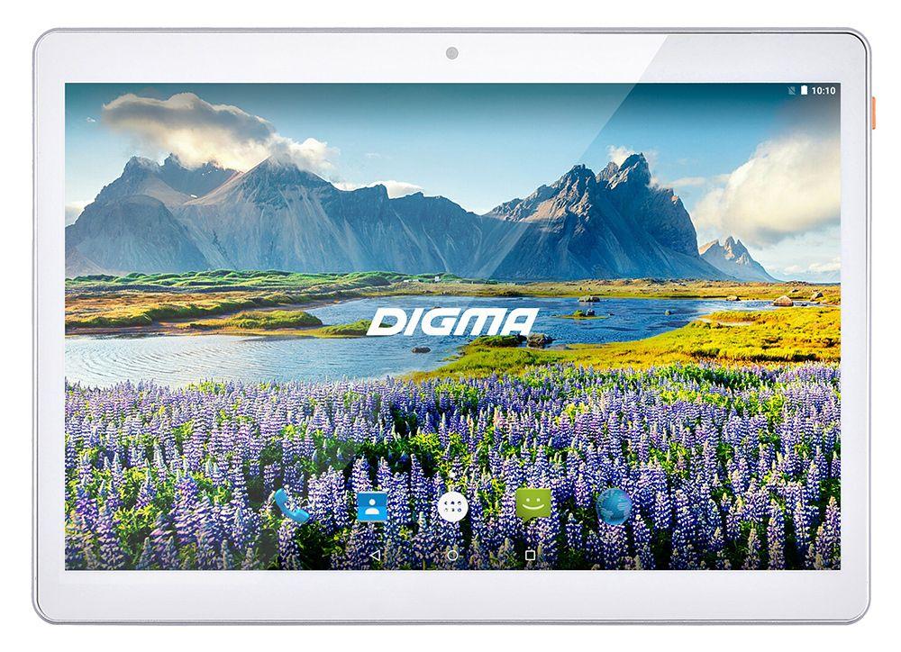 "Планшет Digma Plane 9634 3G MT8321 (1.3) 4C/RAM2Gb/ROM32Gb 9.6"" IPS 1280x800/3G/Android 7.0/белый/2Mpix/0.3Mpix/BT/GPS/WiFi/Touch/microSDHC 64Gb/minUSB/4500mAh"