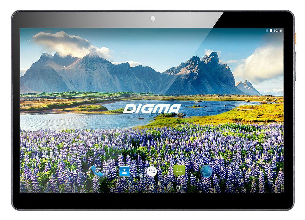 "Планшет Digma Plane 9634 3G MT8321 (1.3) 4C/RAM2Gb/ROM32Gb 9.6"" IPS 1280x800/3G/Android 7.0/черный/2Mpix/0.3Mpix/BT/GPS/WiFi/Touch/microSDHC 64Gb/minUSB/4500mAh"