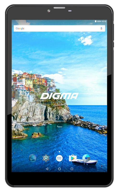 "Планшет Digma CITI 8542 4G MT8735w (1.3) 4C/RAM3Gb/ROM32Gb 8"" IPS 1920x1200/3G/4G/Android 7.0/графит/черный/8Mpix/5Mpix/BT/GPS/WiFi/Touch/microSD 64Gb/minUSB/4000mAh"