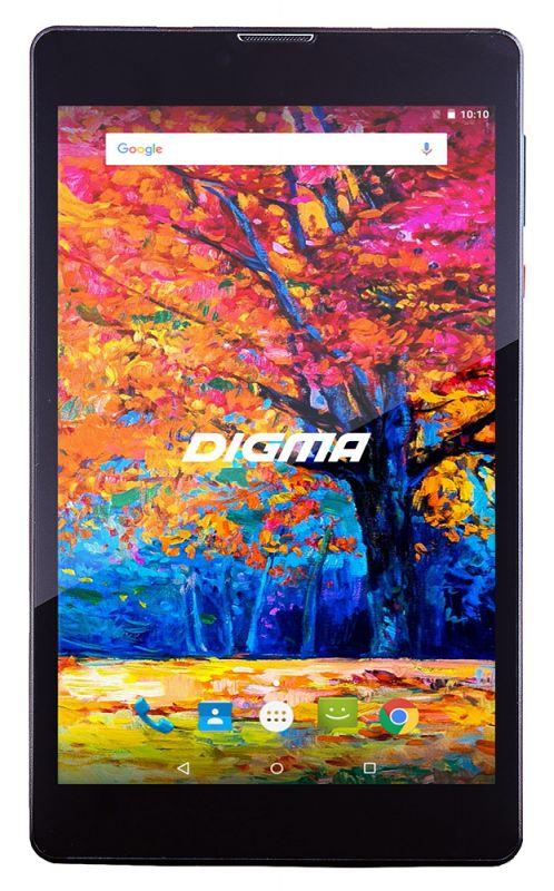 "Планшет Digma CITI 7543 3G MT8321 (1.3) 4C/RAM1Gb/ROM8Gb 7"" IPS 1280x800/3G/Android 7.0/черный/2Mpix/0.3Mpix/BT/GPS/WiFi/Touch/microSD 64Gb/minUSB/2500mAh"