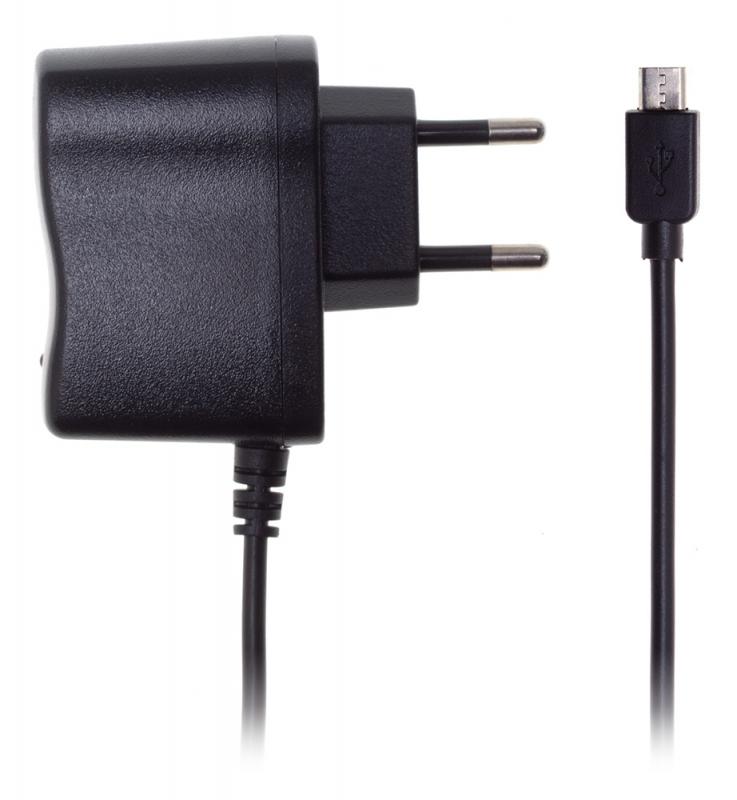 Сетевое зар./устр. Buro XCJ-021-EM-1A 1A универсальное кабель microUSB черный