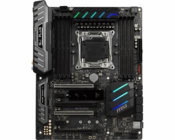 Материнская плата MSI X299 SLI PLUS Soc-2066 Intel X299 8xDDR4 ATX AC`97 8ch(7.1) 2xGgE RAID