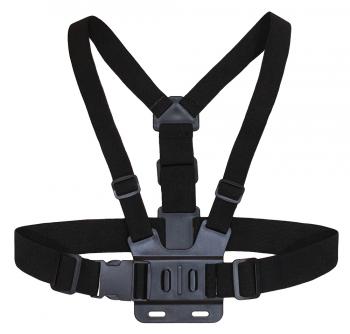 Держатель для экшн-камер Buro Chest mount пластик/эластичная ткань для: GoPro