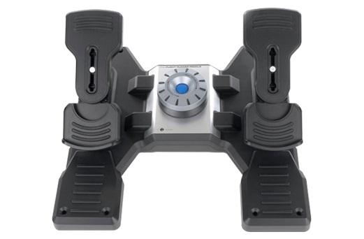 Геймпад Logitech G Saitek PRO Flight Rudder Pedals черный USB виброотдача