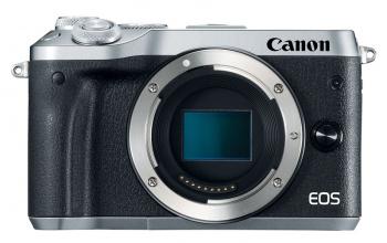 Фотоаппарат Canon EOS M6 черный/серебристый 24.2Mpix 3