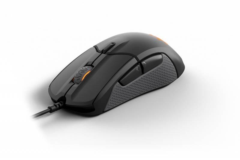 Мышь Steelseries Rival 310 черный оптическая (12000dpi) USB игровая (6but)