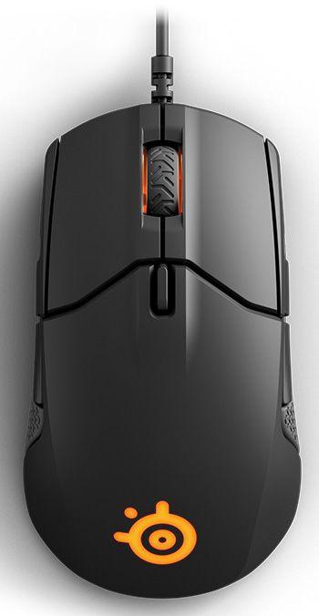 Мышь Steelseries Sensei 310 черный оптическая (12000dpi) USB игровая (8but)