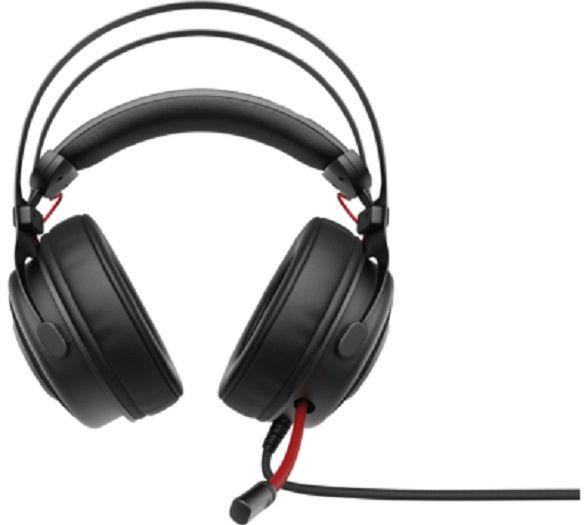 Наушники с микрофоном HP OMEN 800 черный/красный накладные оголовье (1KF76AA)