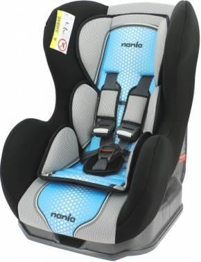 Автокресло детское Nania Cosmo SP FST (pop blue) от 0 до 18 кг (0+/1) черный/голубой