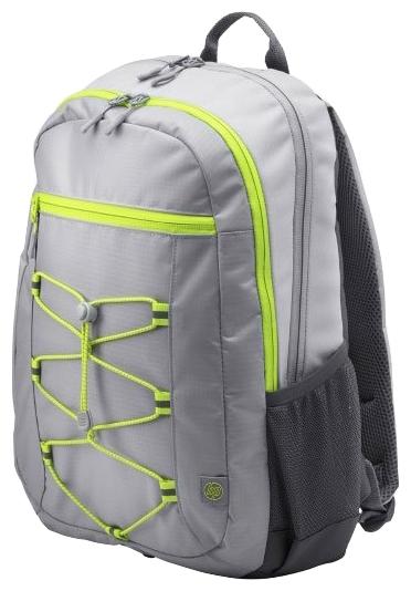"""Рюкзак для ноутбука 15.6"""" HP Active серый синтетика (1LU23AA)"""