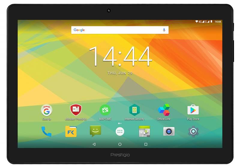 "Планшет Prestigio Grace 3201 4G MTK8735M (1.0) 4C/RAM2Gb/ROM16Gb 10.1"" IPS 1280x800/3G/4G/Android 7.0/черный/2Mpix/0.3Mpix/BT/GPS/WiFi/Touch/microSD 32Gb/minUSB/6000mAh"