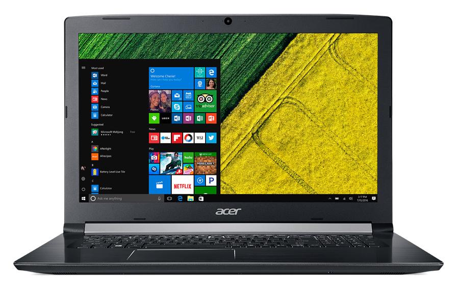 "Ноутбук Acer Aspire A517-51G-56LL Core i5 8250U/12Gb/1Tb/SSD128Gb/nVidia GeForce Mx150 2Gb/17.3""/IPS/FHD (1920x1080)/Windows 10 Home/black/WiFi/BT/Cam/3220mAh"
