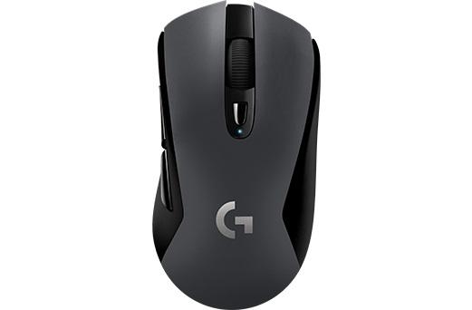 Мышь Logitech G603 LIGHTSPEED черный оптическая (12000dpi) беспроводная BT USB игровая (5but)
