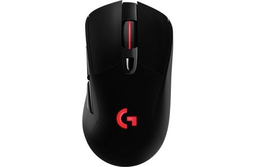 Мышь Logitech G703 LIGHTSPEED черный оптическая (12000dpi) беспроводная BT USB игровая (5but)