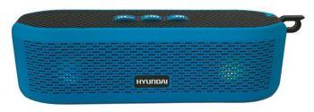 Колонка порт. Hyundai H-PAC200 синий 6W 1.0 BT/3.5Jack/USB