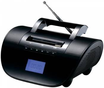 Аудиомагнитола Supra BB-103UB черный 6Вт/MP3/FM(dig)/USB/BT/SD/microSD