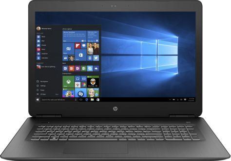 "Ноутбук HP Pavilion Gaming 17-ab318ur Core i7 7700HQ/8Gb/1Tb/DVD-RW/nVidia GeForce GTX 1050Ti 4Gb/17.3""/IPS/FHD (1920x1080)/Windows 10 64/black/WiFi/BT/Cam"