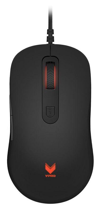Мышь Rapoo V16 черный оптическая (2000dpi) USB2.0 (5but)