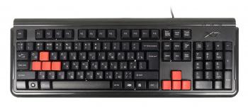 Клавиатура A4 X7-G300 черный PS/2 Gamer