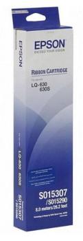Картридж ленточный Epson S015307 C13S015307BA черный лента для Epson LQ-630/630S