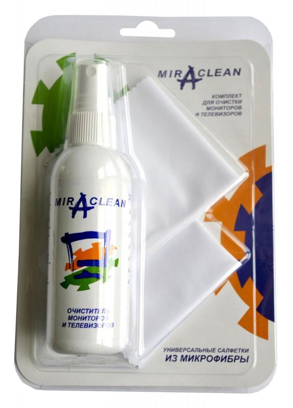 Чистящий набор (салфетки + спрей) Miraclean 24154 для экранов 95мл